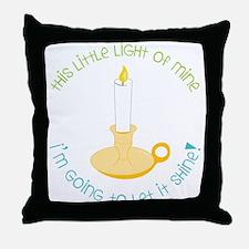 Let It Shine Throw Pillow