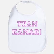 Pink team Kamari Bib
