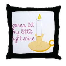 My Little Light Throw Pillow