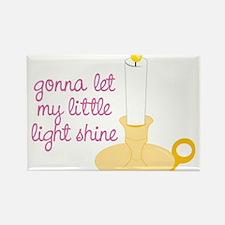 My Little Light Rectangle Magnet