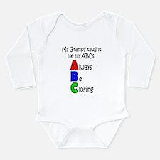 Always Be Closing - Grampy Long Sleeve Infant Body