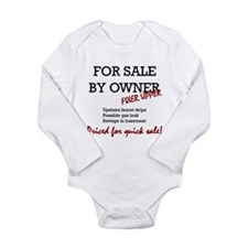 For Sale By Owner Long Sleeve Infant Bodysuit