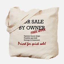 For Sale By Owner Tote Bag