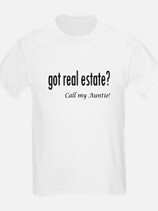 got real estate? Auntie T-Shirt