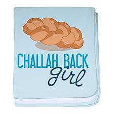 Challah Back Girl baby blanket