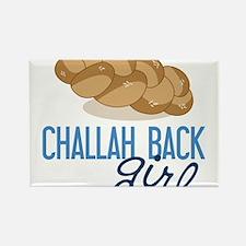 Challah Back Girl Rectangle Magnet