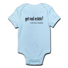 got real estate? Daddy Infant Bodysuit