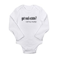 got real estate? Daddy Baby Outfits