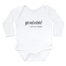 got real estate? Daddy Onesie Romper Suit