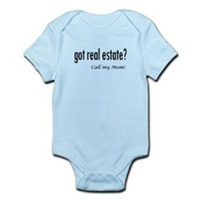 got real estate? Mom Infant Bodysuit