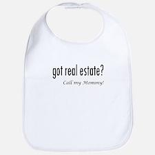 got real estate? Mommy Bib