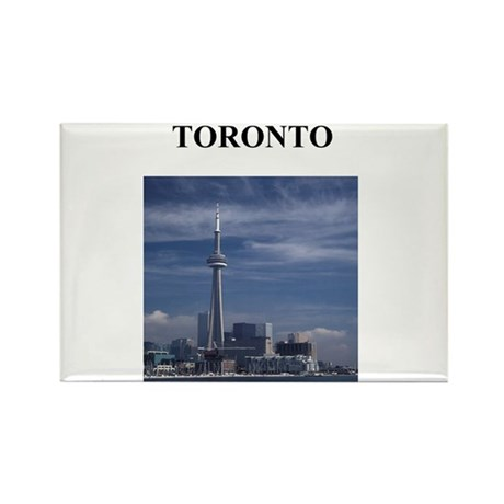 TORONTO Rectangle Magnet
