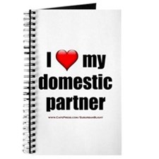 """""""Love Domestic Partner"""" Journal"""