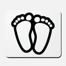 Precious Feet Mousepad