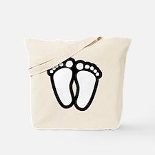Precious Feet Tote Bag
