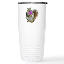 Squirrel Candy Heart Travel Mug