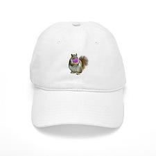 Squirrel Candy Heart Baseball Cap