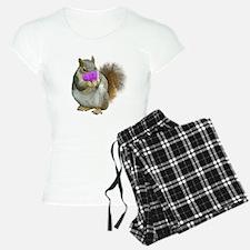 Squirrel Candy Heart Pajamas