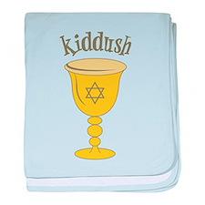 Kiddush baby blanket