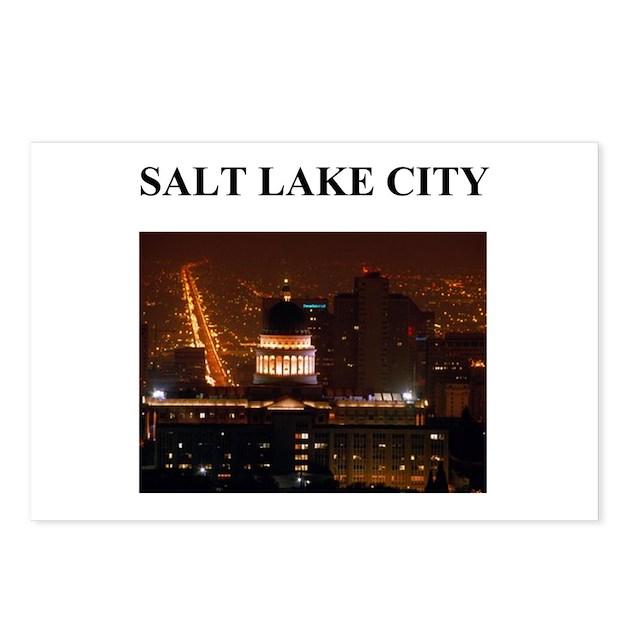Salt Lake City Postcards Package Of 8 By Politicsisfun