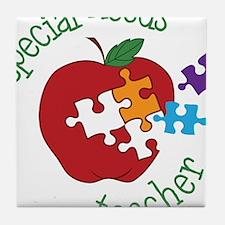 Special Needs Teacher Tile Coaster
