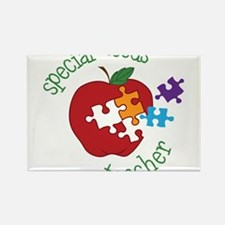 Special Needs Teacher Rectangle Magnet
