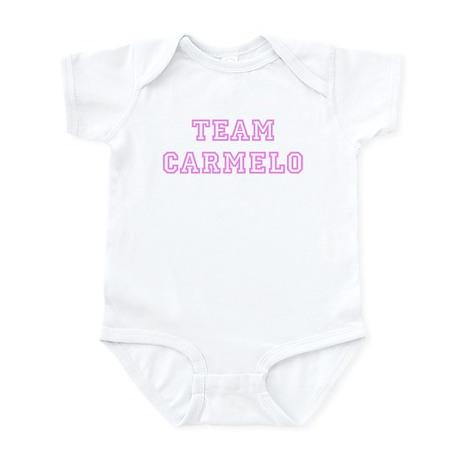 Pink team Carmelo Infant Bodysuit