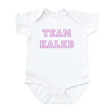 Pink team Kaleb Infant Bodysuit