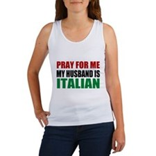 Pray Husband Italian Women's Tank Top