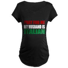 Pray Husband Italian T-Shirt