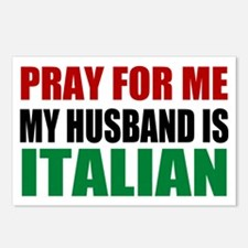 Pray Husband Italian Postcards (Package of 8)