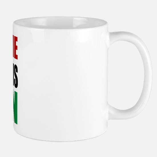Pray Husband Italian Mug