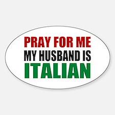 Pray Husband Italian Decal