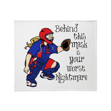 NIGHTMARE Throw Blanket