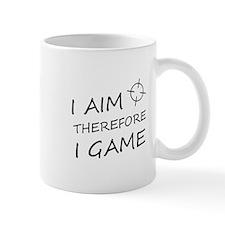 I aim, therefore, I game! Mug