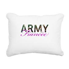 BDU Army Fiancee Rectangular Canvas Pillow