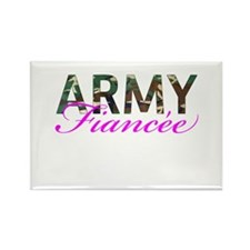 BDU Army Fiancee Rectangle Magnet