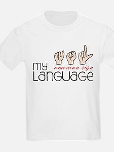 My Language T-Shirt