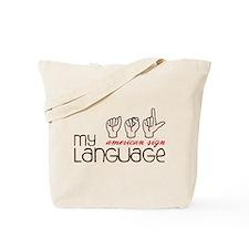 My Language Tote Bag