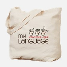 My Language Tote Bag