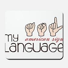 My Language Mousepad