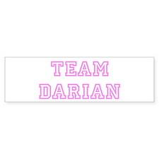 Pink team Darian Bumper Bumper Sticker