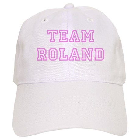 Pink team Roland Cap