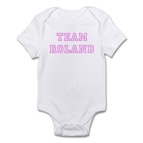 Pink team Roland Infant Bodysuit