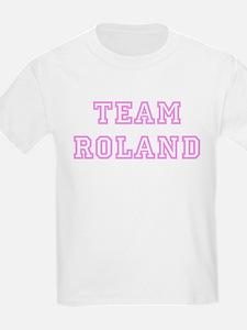 Pink team Roland Kids T-Shirt