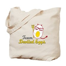 Team Deviled Eggs Tote Bag