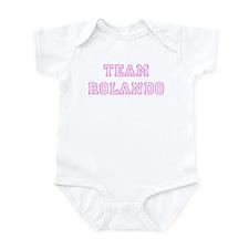 Pink team Rolando Infant Bodysuit
