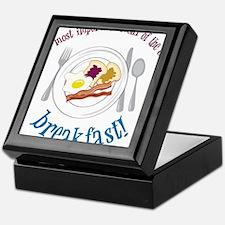Important Meal Keepsake Box