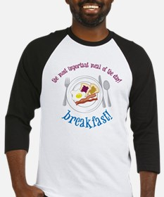 Important Meal Baseball Jersey