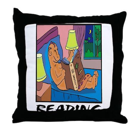 Reading Throw Pillow